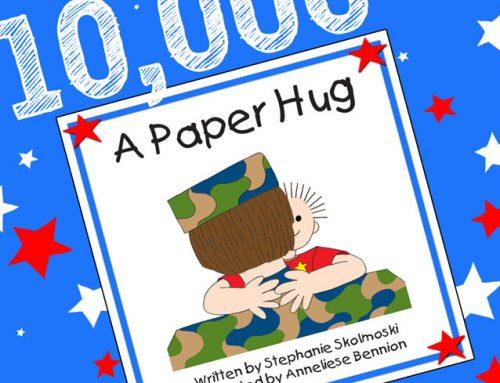 3rd Printing & 10,000 Paper Hugs!