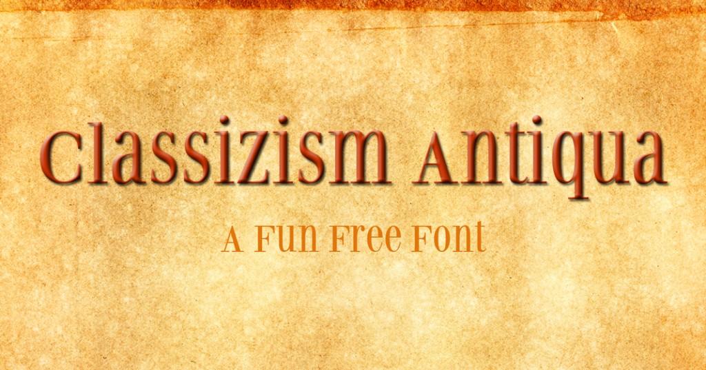 Classizism-Antiqua