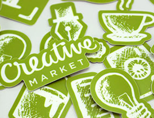 Shopping at the Creative Market