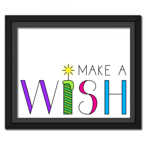 Make a Wish | Quote Picture