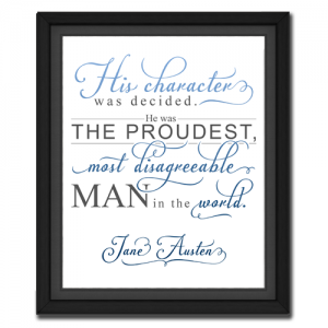 Character Blue | Quotation Picture