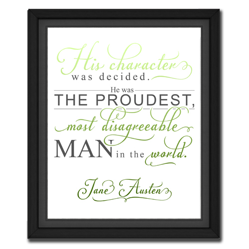 Character Green | Quotation Picture