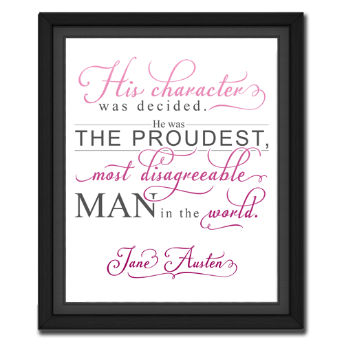 Character Pink | Quotation Picture