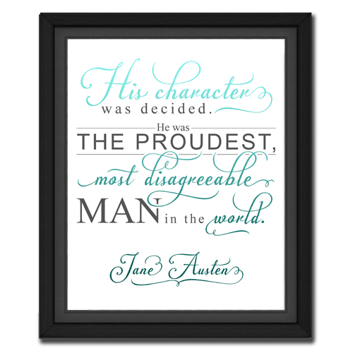 Character Turquoise | Quotation Picture
