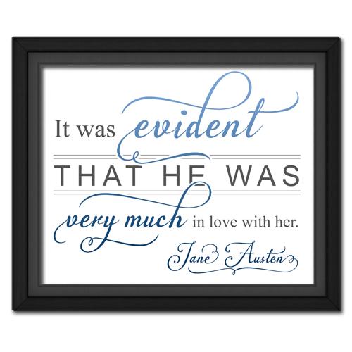 Evident Blue | Quotation Picture