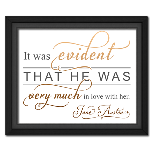 Evident Brown | Quotation Picture