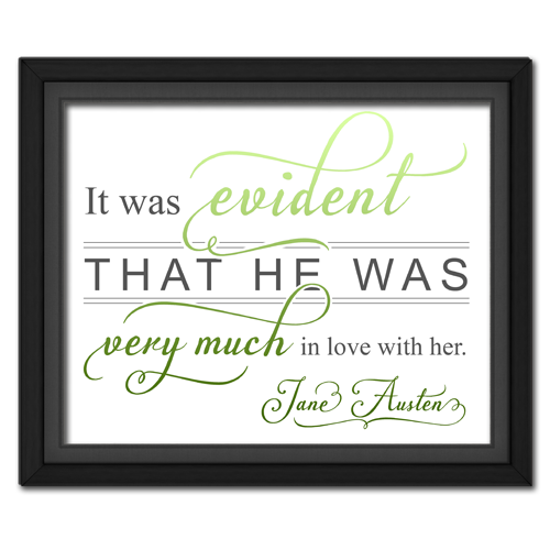 Evident Green | Quotation Picture