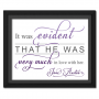 Evident Purple | Quotation Picture