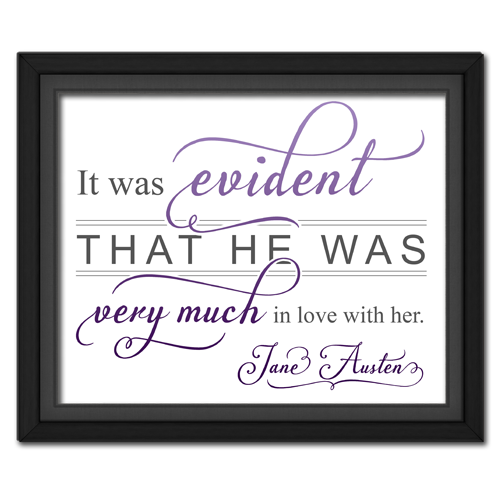 Evident Purple | Quotation Picture