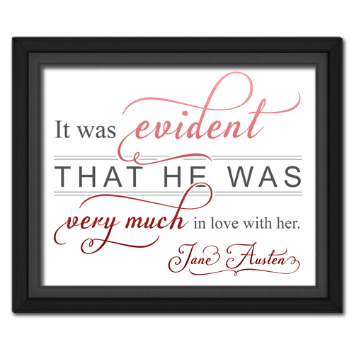 Evident Red | Quotation Picture