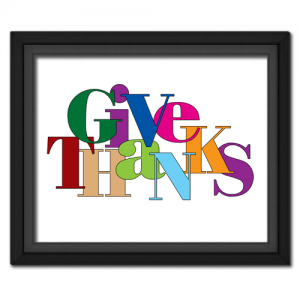 Give Thanks Jumble Bold
