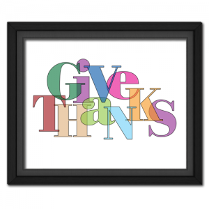 Give Thanks Jumble Transparent