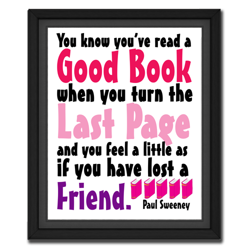 Turn the Last Page Quote Picture