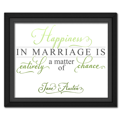 Happiness Green | Quotation Picture
