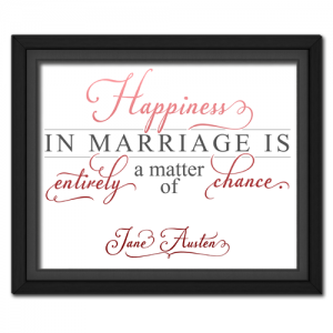 Happiness Red | Quotation Picture