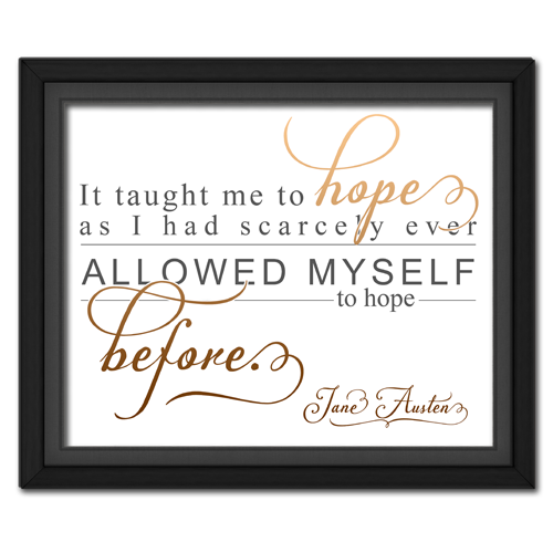 Hope Brown | Quotation Picture