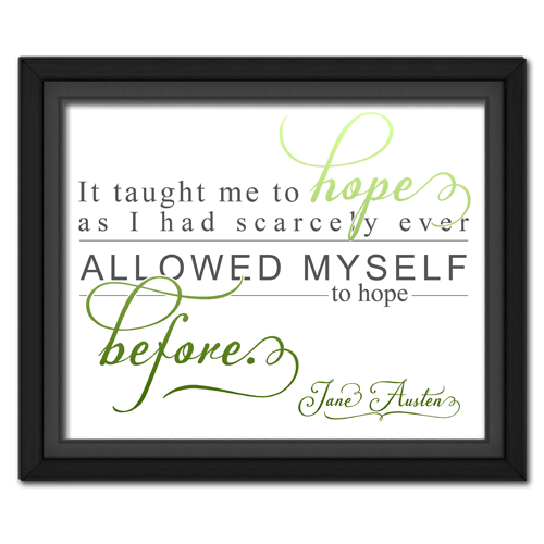Hope Green | Quotation Picture