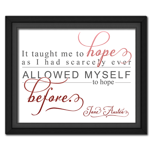 Hope Red | Quotation Picture