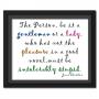 Pleasure in a Good Book | Quote Picture