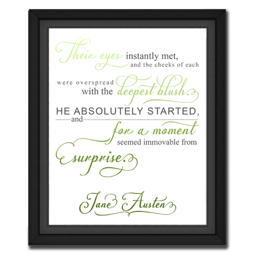 Surprise Green | Quotation Picture