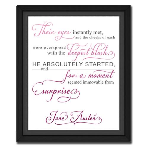 Surprise Pink | Quotation Picture