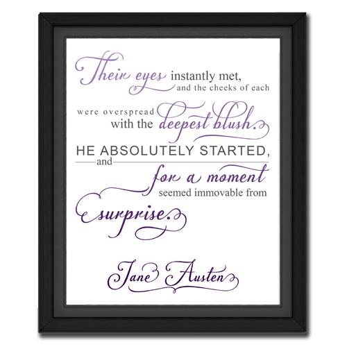 Surprise Purple | Quotation Picture