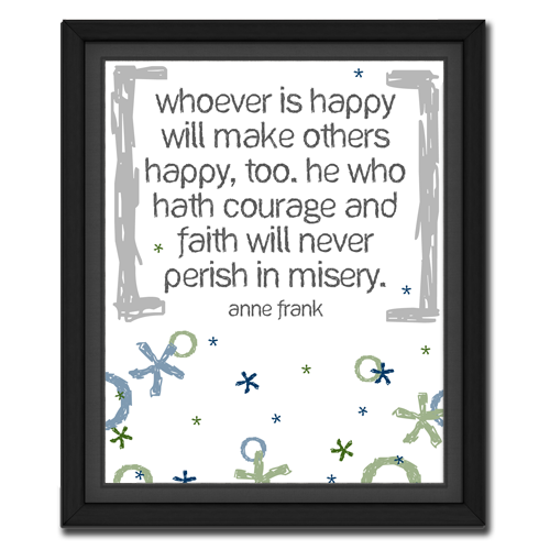 Whoever is Happy | Quote Picture