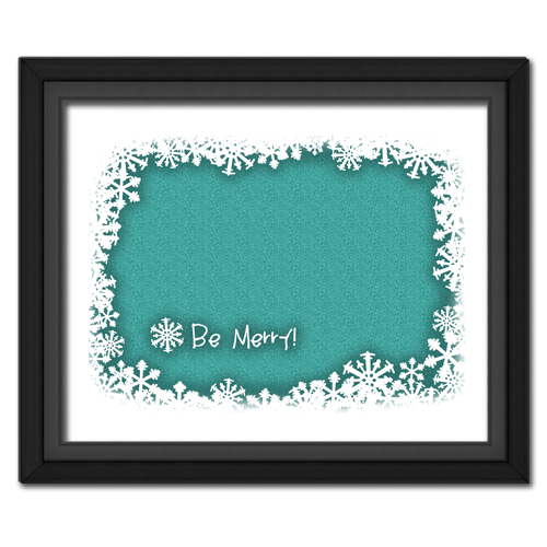 Be Merry Turquoise