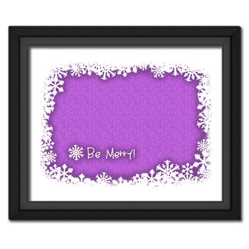 Be Merry Purple
