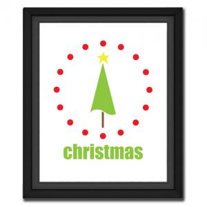Christmas Tree Circular