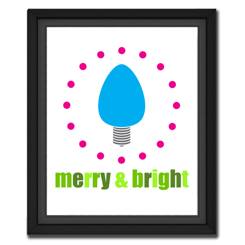 Merry & Bright Bulb