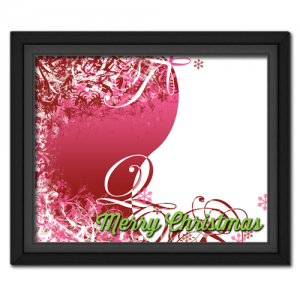 Christmas Swirls Pink