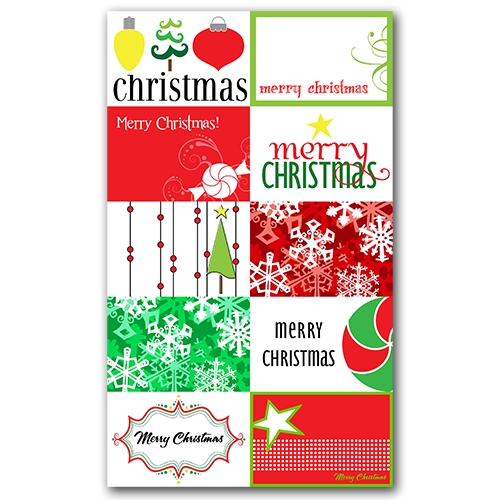 Christmas Tags Free Download #freebie #gifttags #christmas