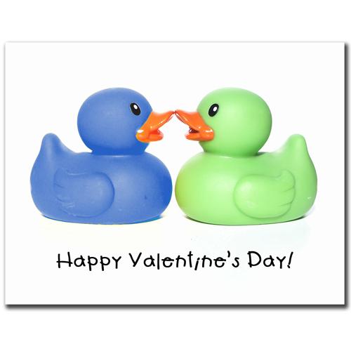 Duckie Valentine Card