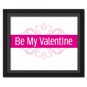 Be My Valentine Elegant