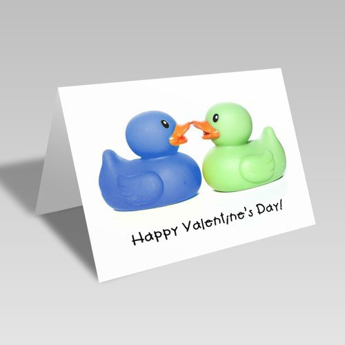 Duckie Valentine Card | Free Download