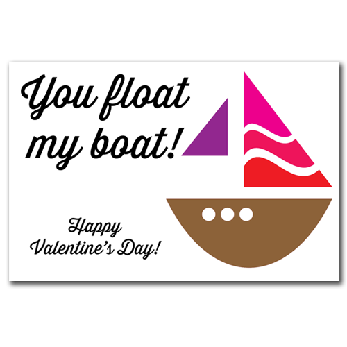 You Float My Boat Gift Tags
