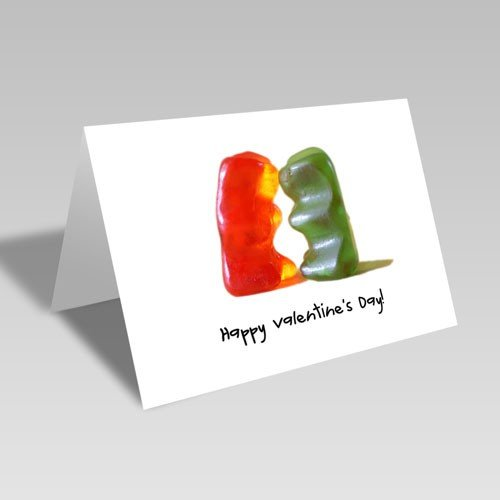 Gummy Valentine Card | Free Download
