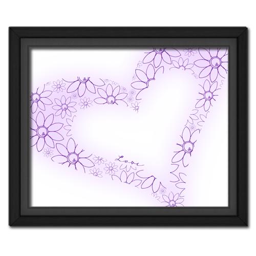 Lovey Dovey Purple