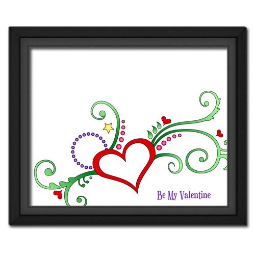 Valentine Heart Flower