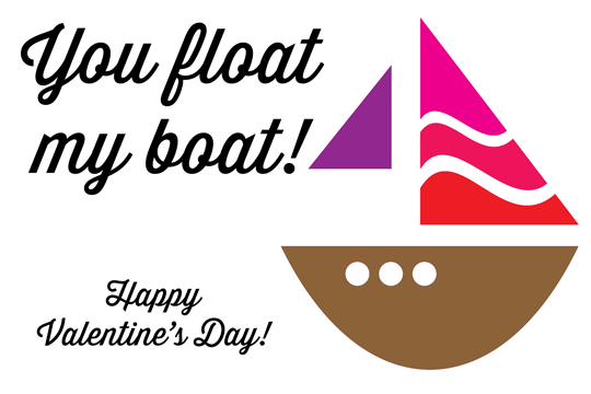 Free Printable: You Float My Boat