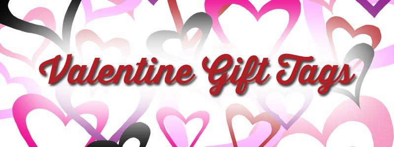 Free Printable: Valentine Gift Tags