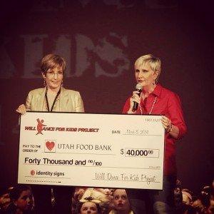 WDFKP $40,000 Check