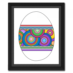 Circle Egg Picture