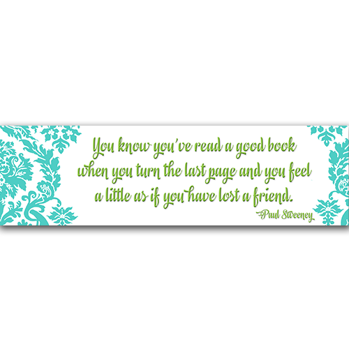 Read a Good Book Bookmark