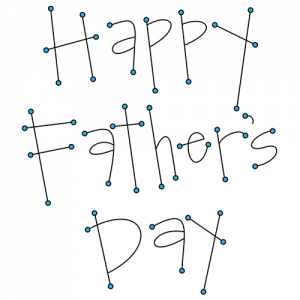 Father's Tools Clip Art: Words