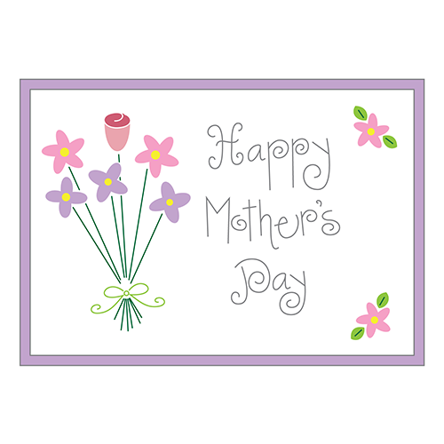 Mother's Day Bouquet Clip Art