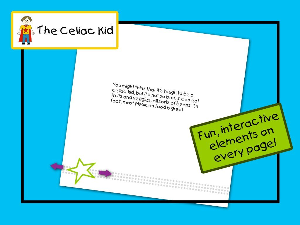 The Celiac Kid iPad App