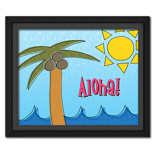 Freebie: Aloha! Beach Fun Printable