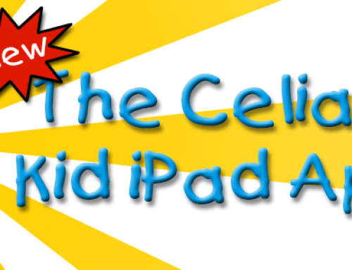 Introducing: The Celiac Kid iPad App!!!